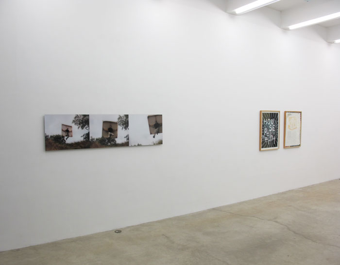 Installation view,  House Painter , Martos Gallery, New York, 2012