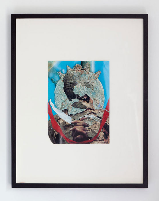 Alex Rose,  Untitled , 2012, paper collage, 11.5 x 8 in
