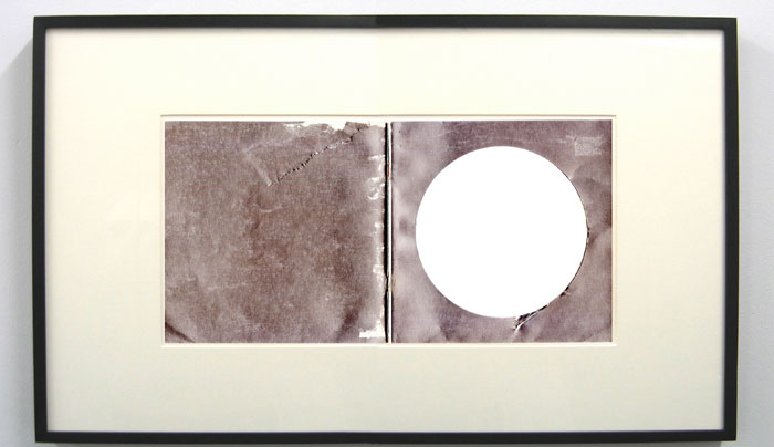 Matthew Higgs,  Handford Yang I , 2008, framed book cover, 16.5 x 24.4 in