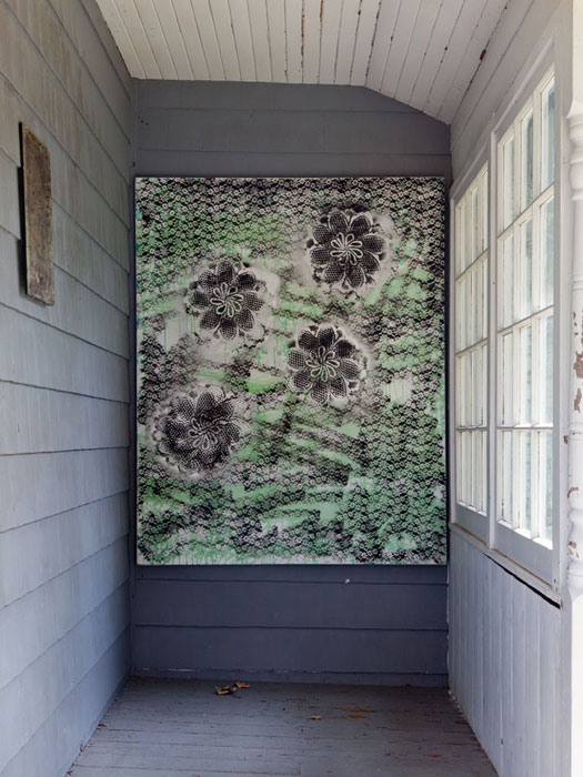 Installation view,  Creature From the Blue Lagoo n, Martos Gallery, Bridgehampton, NY, 2012
