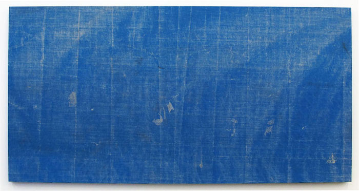 Aaron Bobrow,  Sailin' On , 2011, tarp, 40 x 79 in