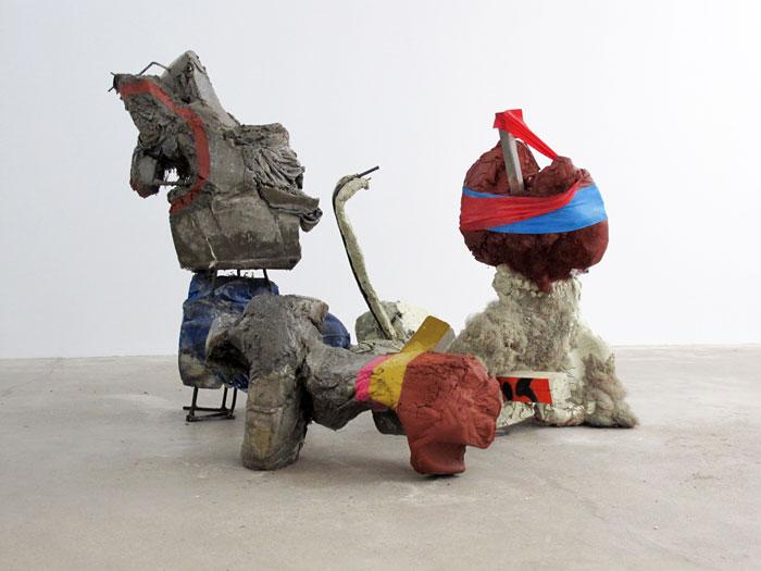 Installation view, Aaron Bobrow – Jo Nigoghossian – Grayson Revoir , Martos Gallery, New York, 2011