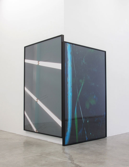 Installation view,  Colin Snapp/Daniel Turner , Martos Gallery, New York, 2011