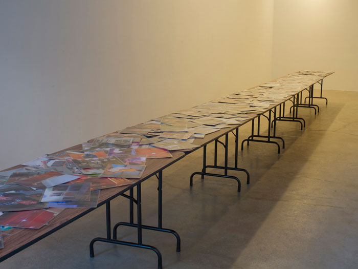 Installation view,  Trove , Martos Gallery, New York, 2011