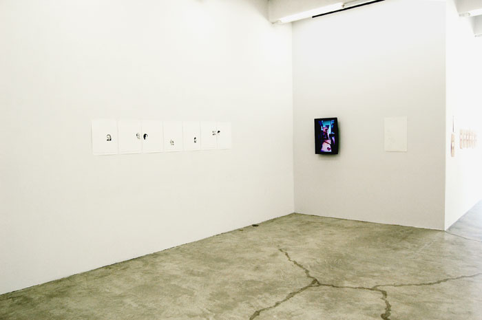 Installation view,  Day to-day , Martos Gallery, New York, 2010