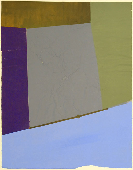Ben Berlow,  Untitled , 2003, Acrylic on paper, 14 1⁄2 x 11 1⁄2 in