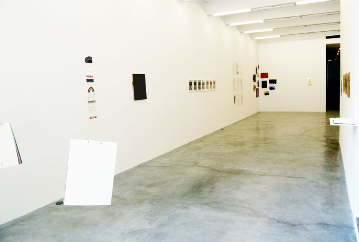 Installation view,  Day to-day,  Martos Gallery, New York, 2010