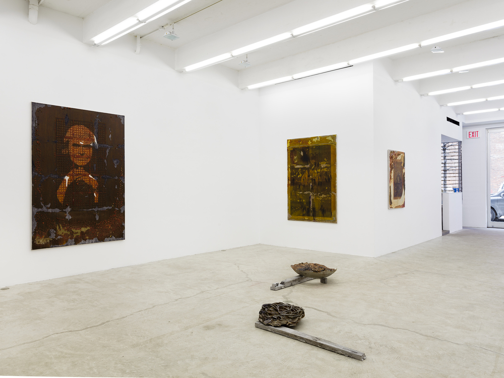 Installation view,  I drive and I think and I look, but I don't know. Lanquidity , Martos Gallery, New York, 2015