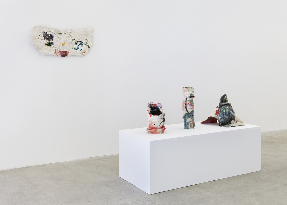 Installation view,  Mrs. Thompson's Mirror , Martos Gallery, New York, 2015