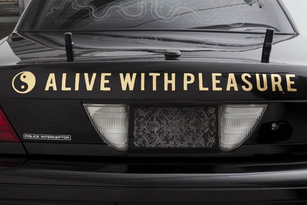 Scott Campbell,  Crown Victorious  (detail), 2015, remodeled Ford Crown Victoria with 