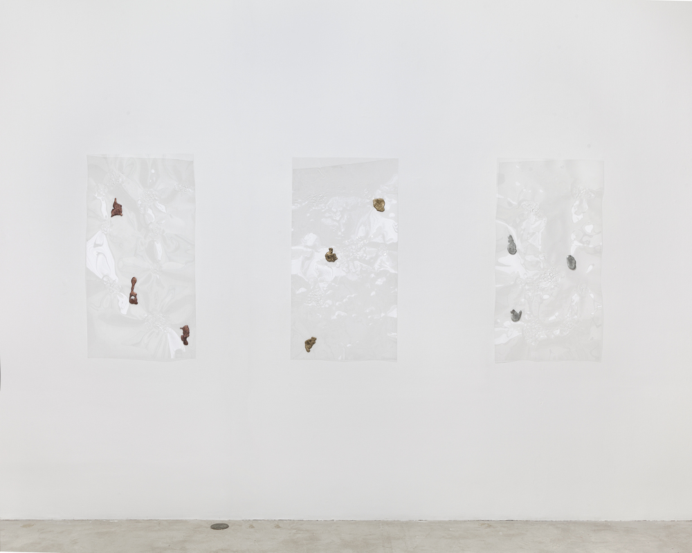 Installation view,  Slippery , Martos Gallery, New York, 2014