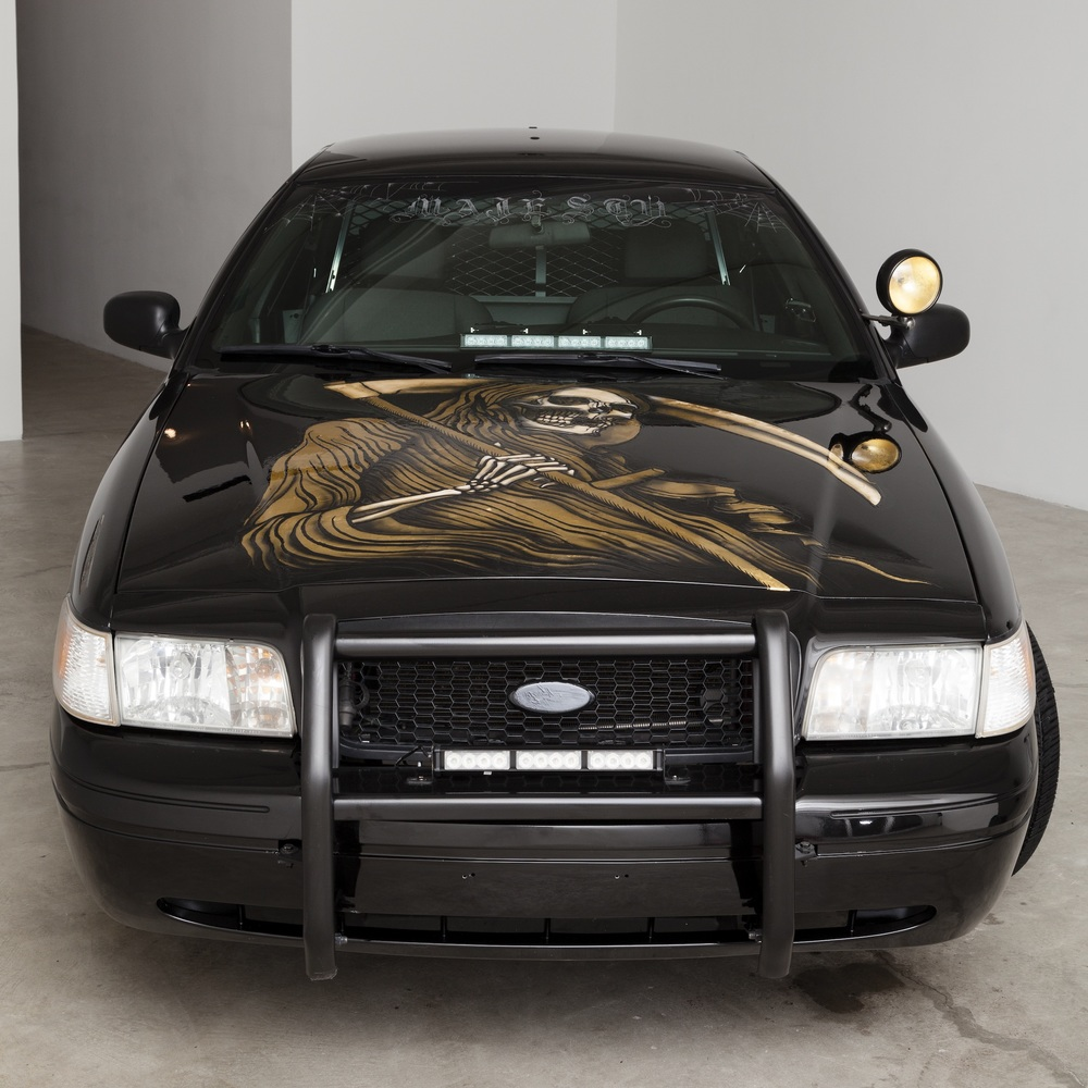 Scott Campbell,  Crown Victorious , 2015, remodeled Ford Crown Victoria with 