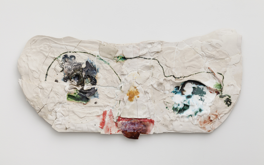 Jennie Jieun Lee,  Piano Sonata #16 in C Major , 2015, glazed stoneware, 14 x 31 x 2 in