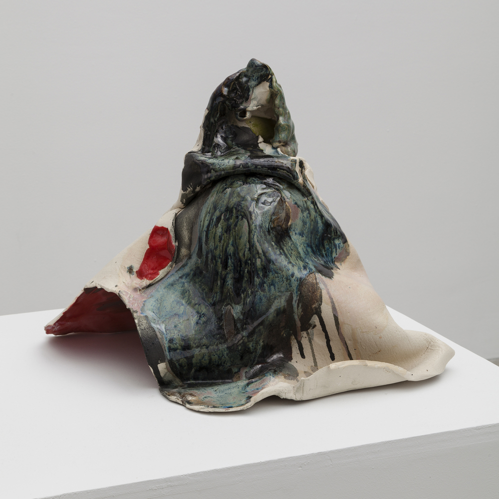 Jennie Jieun Lee,  Holy Mountain , 2015, glazed stoneware, 16 x 17 x 15 in