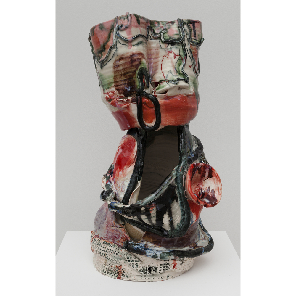 Jennie Jieun Lee,  Oradell , 2015, glazed stoneware, 19.5 x 9 x 7.25 in