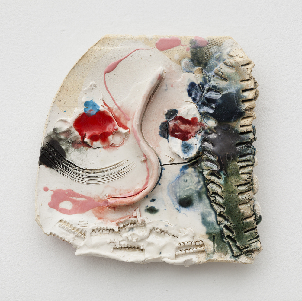 Jennie Jieun Lee,  Allegretto , 2015, glazed stoneware, 10 x 9.5 x 2 in