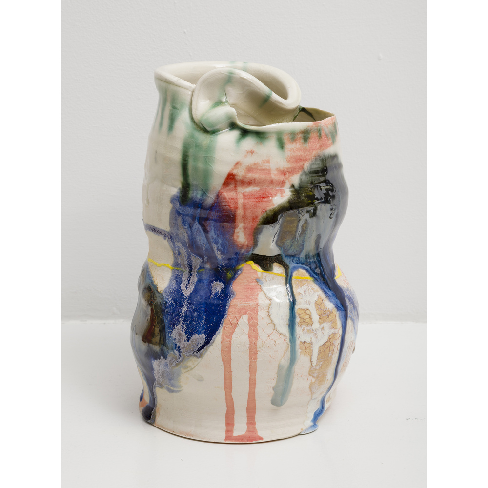 Jennie Jieun Lee,  Untitled , 2015, glazed stoneware, 9 x 5 x 5.5 in