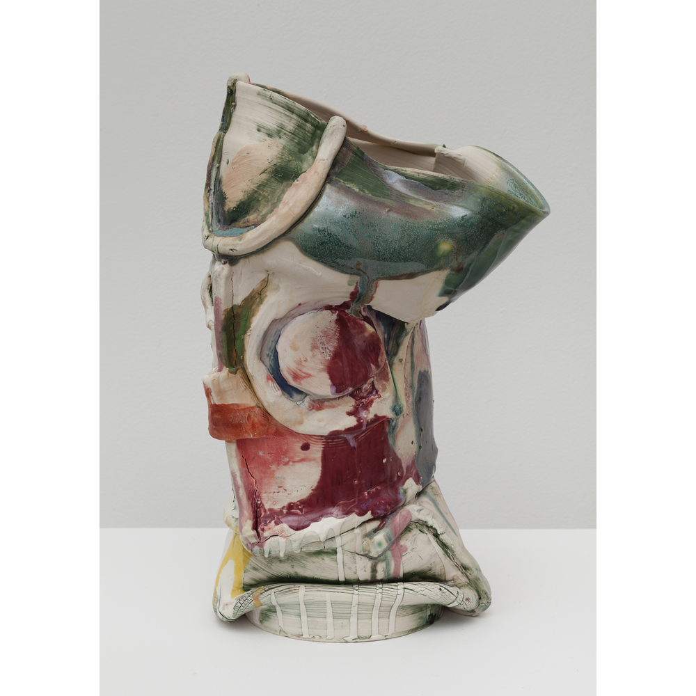 Jennie Jieun Lee,  The Queen , 2015, glazed stoneware, 14 x 8 x 5.5 in