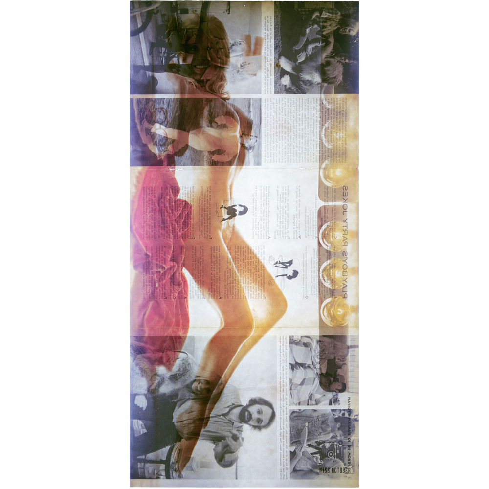 Irina Arnaut,    Miss October 1972   , 2014, archival C-print, 36 x 17 in