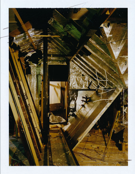 Anne Hardy,  Recess , 2011, polaroid, 5 x 4 in