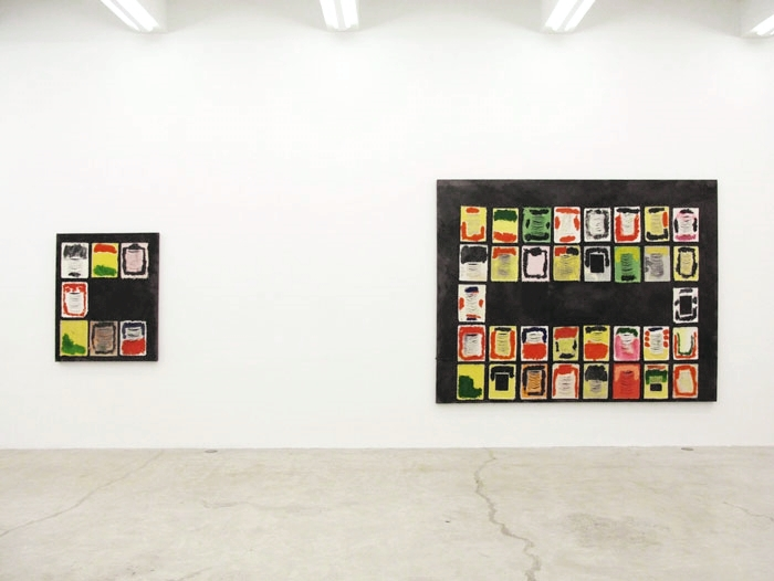 Installation view,  Jellie , Martos Gallery, New York, 2012