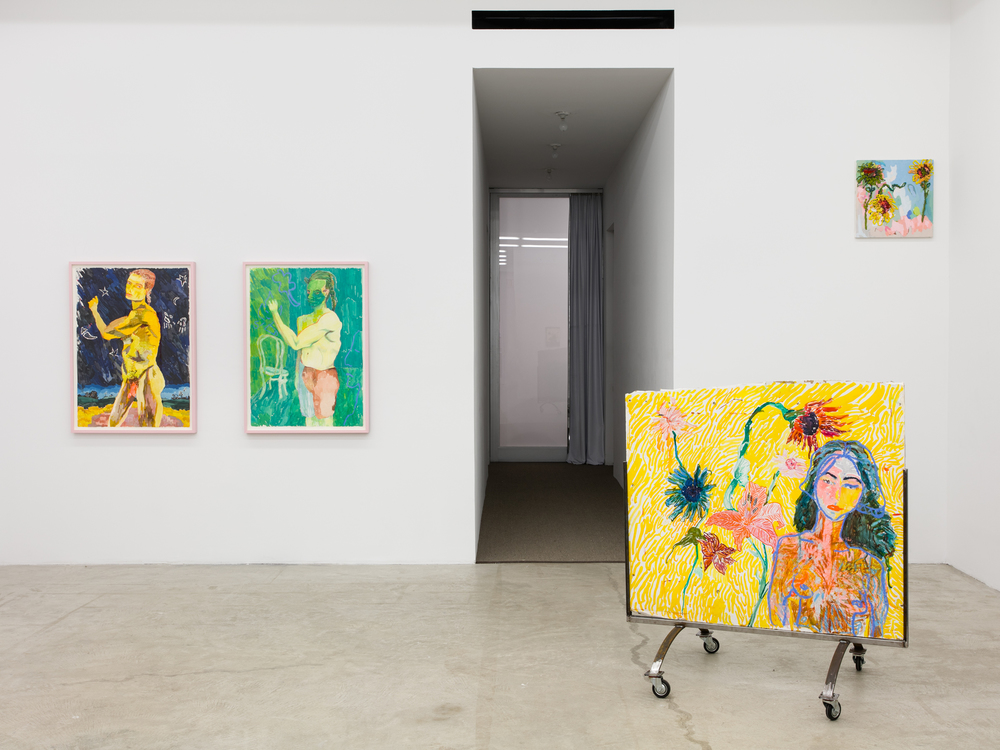 Installation view,  The Rose Period , Martos Gallery, New York, 2016