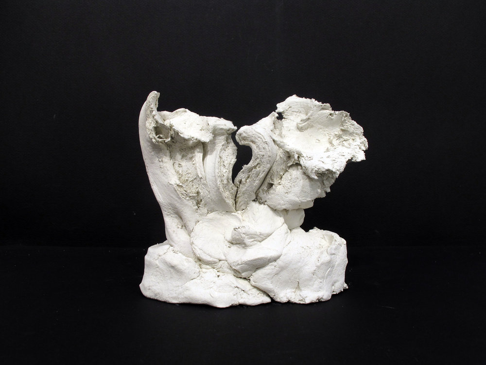 Dan Asher,  Untitled,  1994, clay, 5.5 x 5 x 3.75 in.