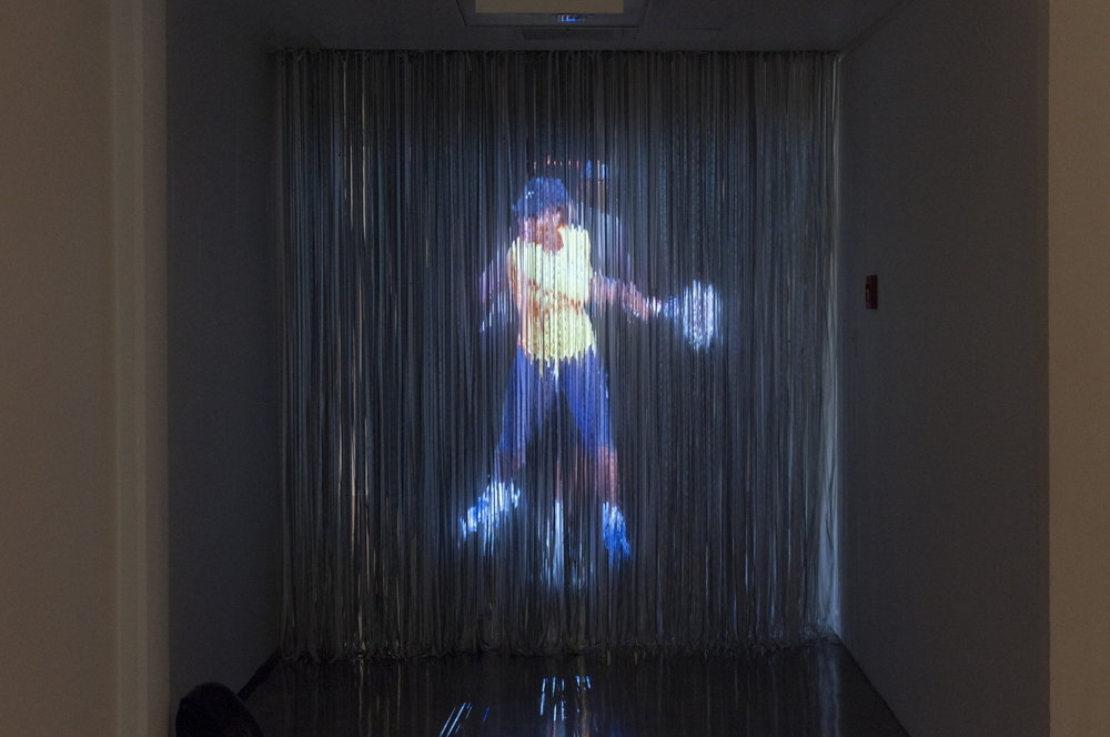 JPW3, Serena Hologram, 2016, hologram installation, dimensions variable