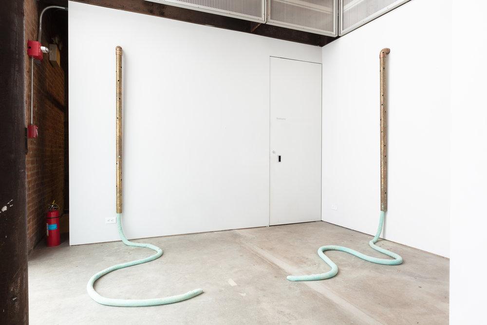 Jory Rabinovitz, Installation view, Now Showing: Jory Rabinovitz, Sculpture Center, Long Island City, Queens, NY, 2014