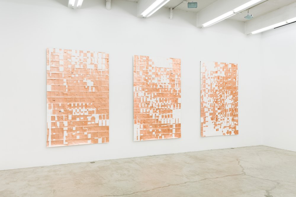 Installation view,  Aux quatre vents,  Martos Gallery, New York, 2013