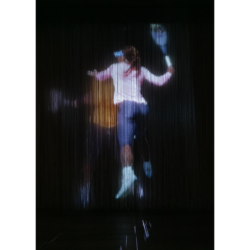 JPW3,    Serena Hologram xl , 2017, hologram installation, dimensions variable