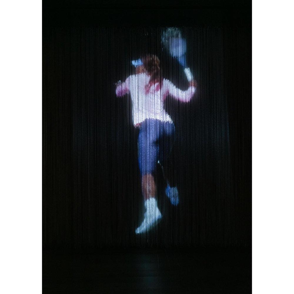 JPW3,   Serena Hologram xl , 2017, hologram installation, dimensions variable