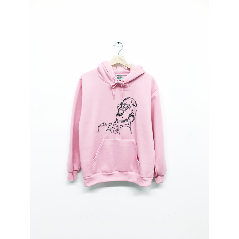 JPW3,    Pink Grunt , 2017, hoodie, dimensions variable