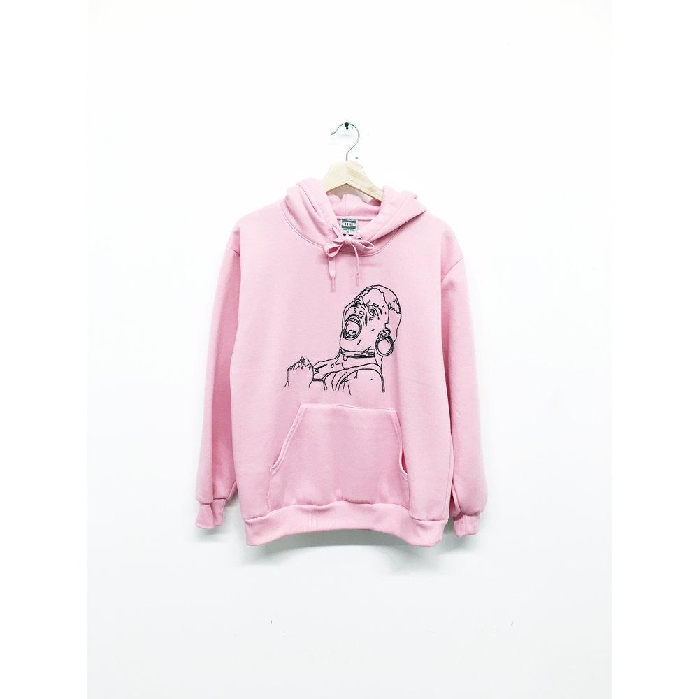 JPW3,   Pink Grunt , 2017, hoodie, dimensions variable