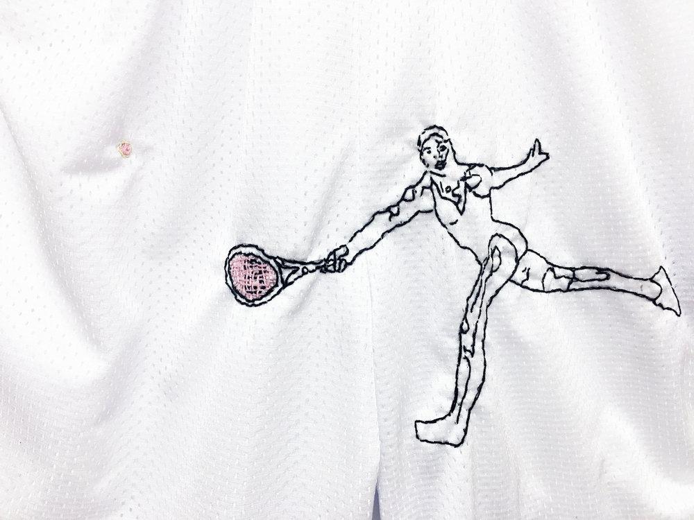 JPW3,   Pink Ball Ball Shorts , 2017, shorts, dimensions variable