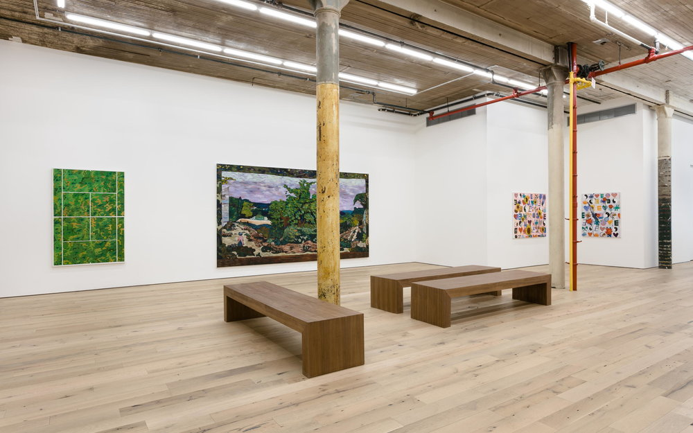 Installation view,  Dizzy Buchanan,  Martos Gallery, New York, 2017