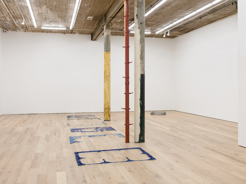 Installation view,  Receipt of a Form,  Martos Gallery, New York, 2017