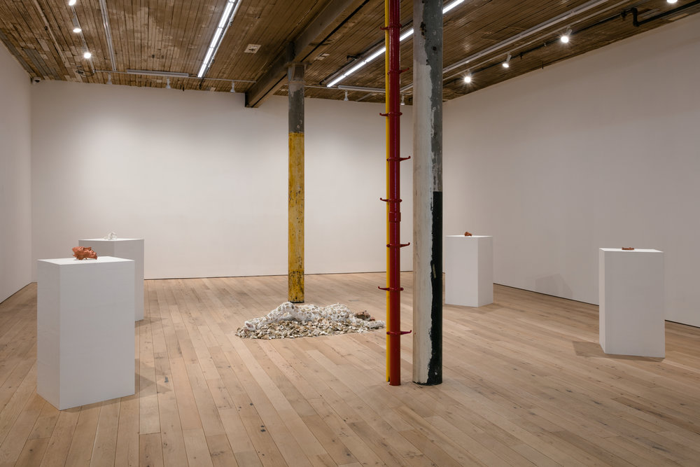 Installation view,  oikos love love love,  Martos Gallery, New York, 2018