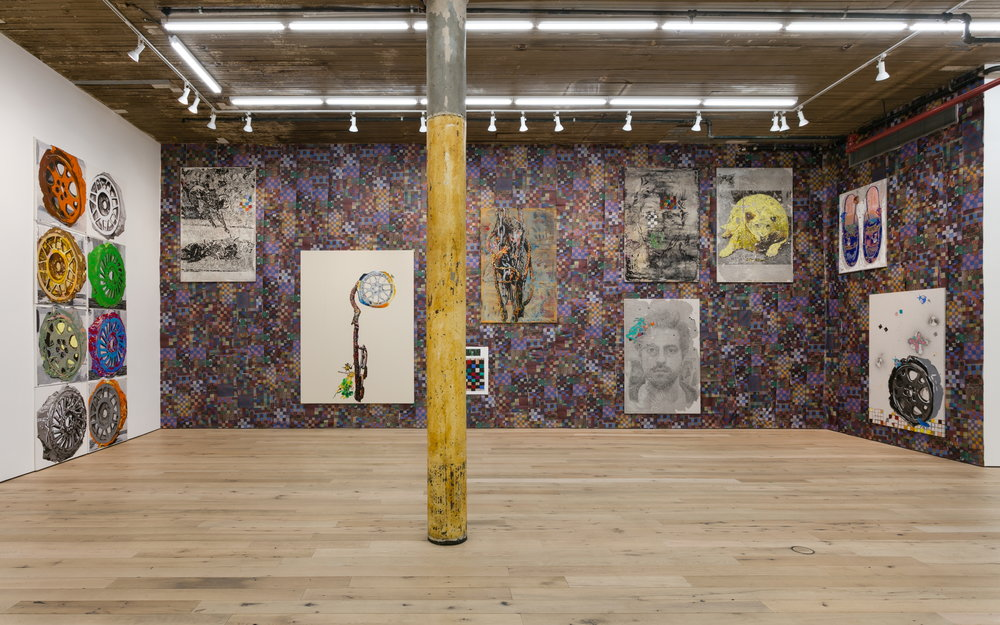 Installation view,  change is death,  Martos Gallery, New York, 2018
