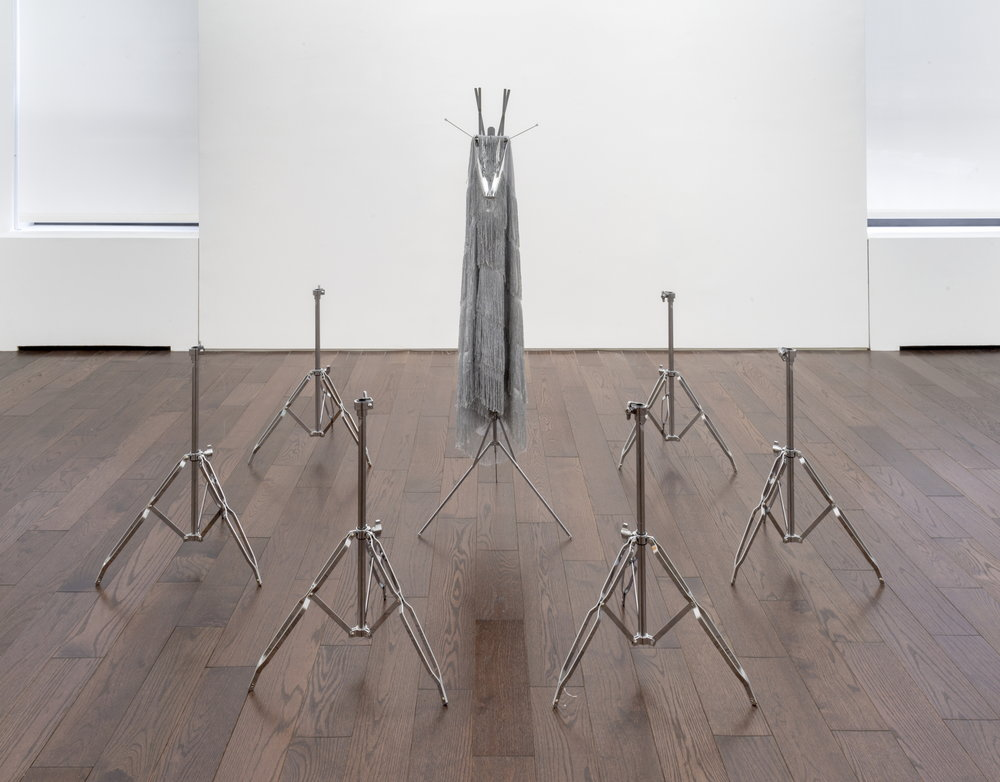 Kayode Ojo,  Untitled , 2018, mixed media, Dimensions variable.