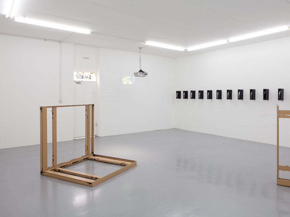 Installation View,  Exit Strategy , Emalin Gallery, London, UK 2018