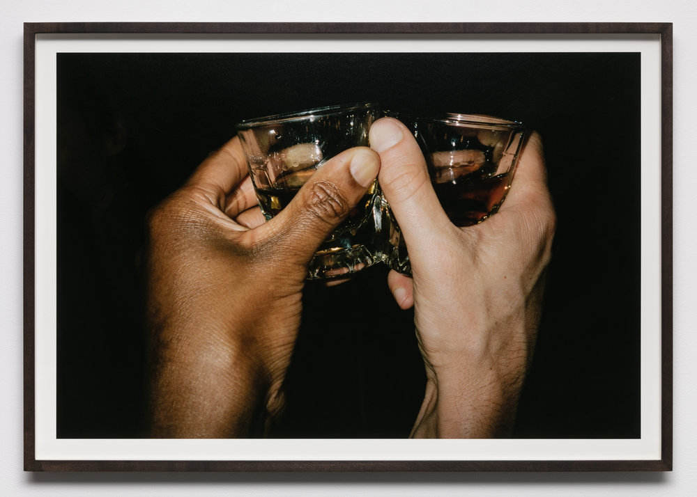 Kayode Ojo,  Reaching Out (UK) , 2018, C-print mounted on museum board, 26 3/8 x 39 7/8 in.