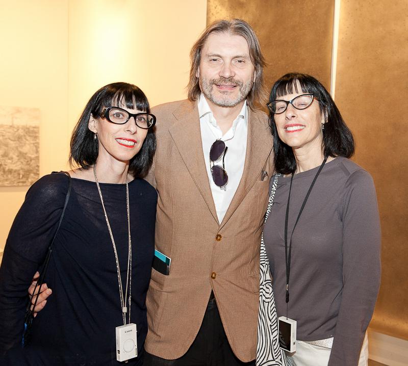 Lynda Kahn (l.), Klause Ottmann (c.) and Ellen Kahn
