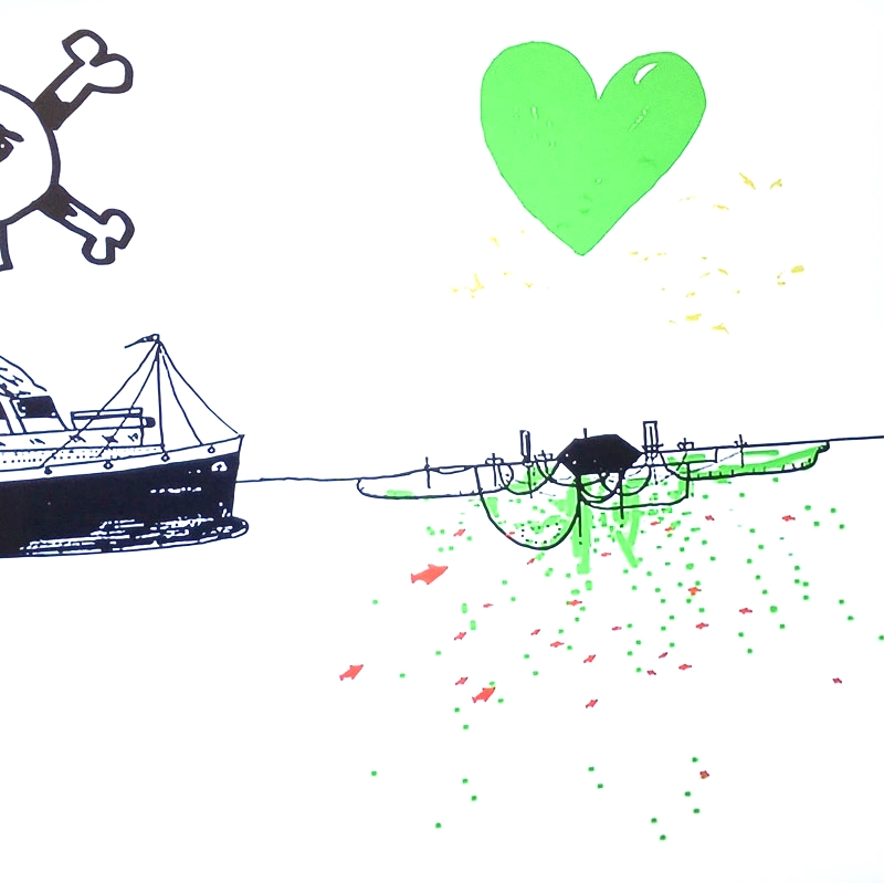 """Open Sailing"" 2009. Artist: Cesar Harada."