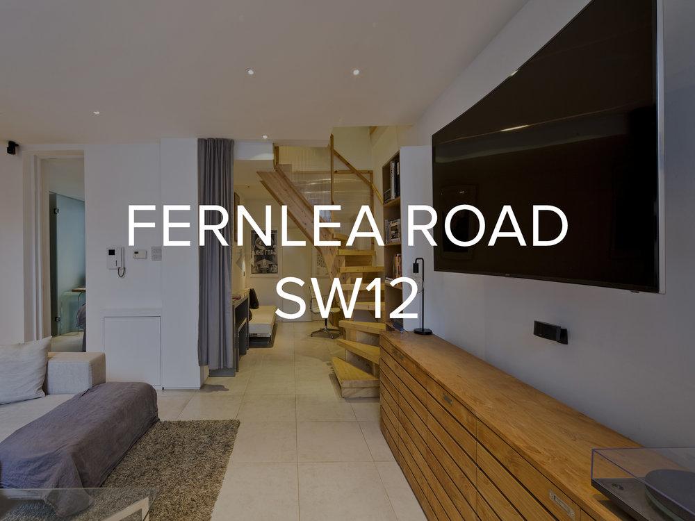 FERNLEA ROAD SW12