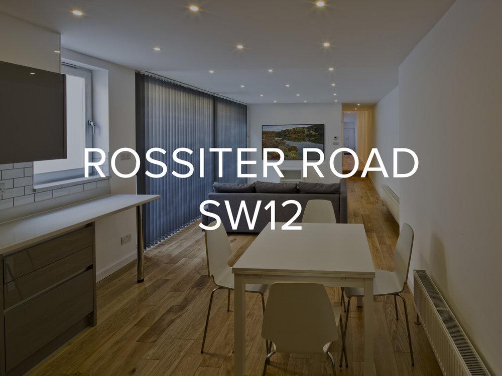 ROSSITER ROAD SW12