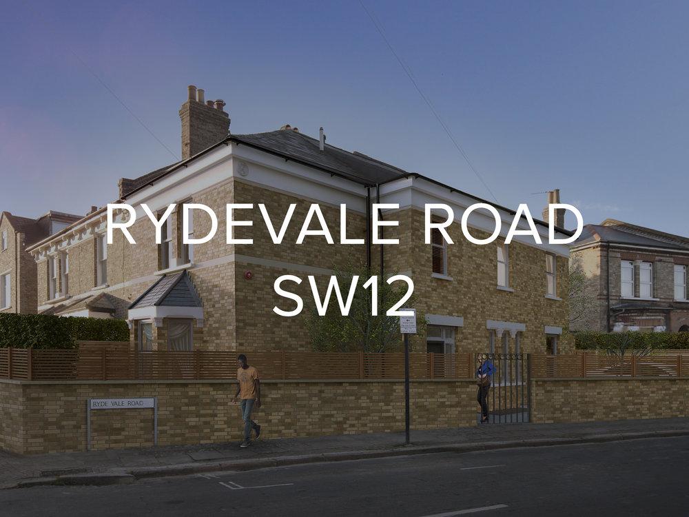RYDEVALE ROAD SW12