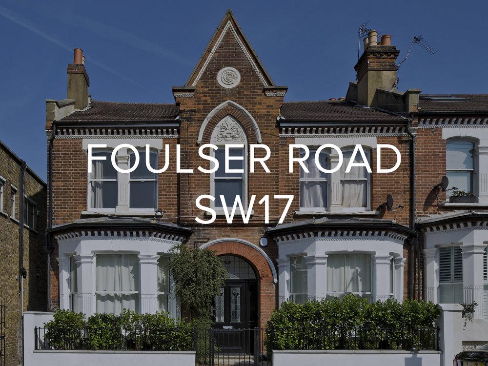 FOULSER ROAD SW17