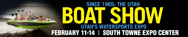 Come visit our booth at the 2016 Utah Boat Show