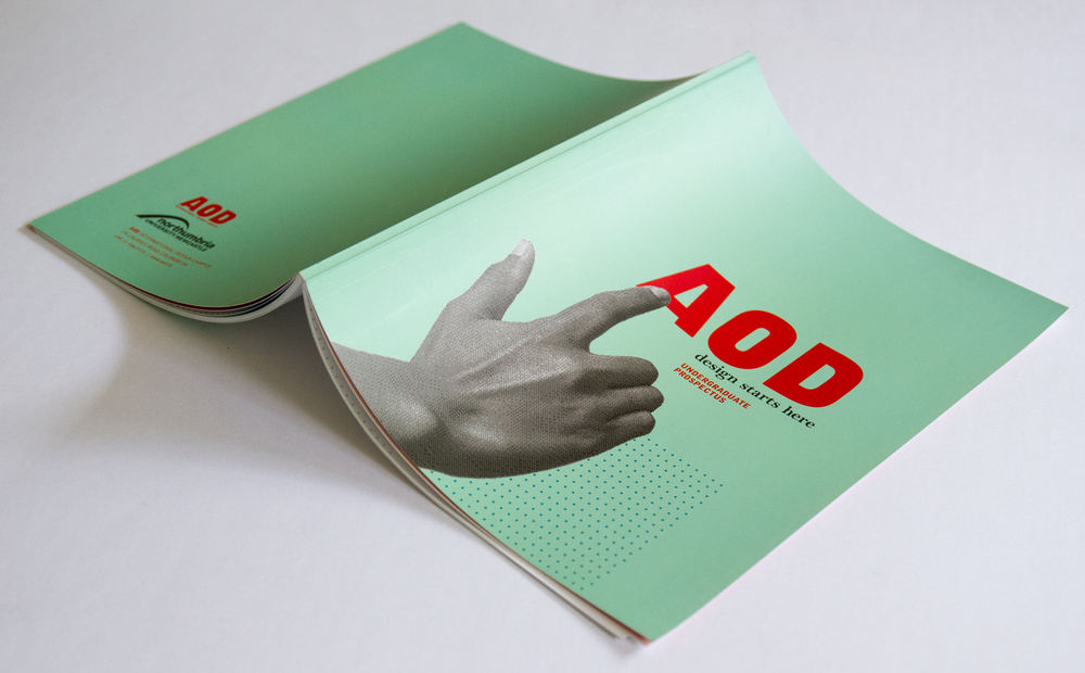 AOD undergraduate prospectus. Printed at Gunaratne Offset Pvt. Ltd.